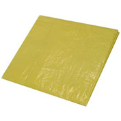 30' x 30' Light Duty 3.3 oz. Tarp, High Visibility Yellow - Y30x30