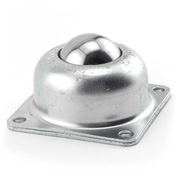 "Hudson Bearings 1-1/2"" Stainless Steel Main Ball 4 Hole Flange Carbon Steel Housing BT-1 1/2CS/SS"