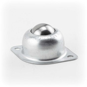 """Hudson Bearings 1"""" Carbon Steel Main Ball with 2 Hole Flange Carbon Steel Housing BT-1CS - 2""""W"""