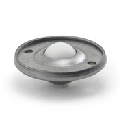 "Hudson Bearings 5/8"" Nylon Ball Carbon Steel Low Profile Flying Saucer Ball Transfer NFSBT-5/8CS"