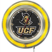 "University of Central Florida Double Neon Ring 15"" Dia. Logo Clock"