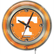 "University of Tennessee Double Neon Ring 15"" Dia. Logo Clock"