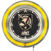 "US Military Academy Double Neon Ring 15"" Dia. Logo Clock"