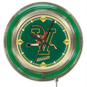 "University of Vermont Double Neon Ring 15"" Dia. Logo Clock"