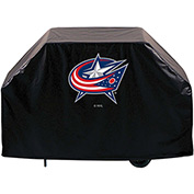"Holland Bar Stool, Grill Cover, Columbus Blue Jackets, 60""L x 21""W x 36""H"