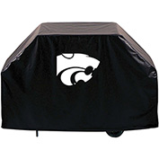 "Holland Bar Stool, Grill Cover, Kansas State, 60""L x 21""W x 36""H"