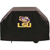 """Holland Bar Stool, Grill Cover, Louisiana State, 60""""L x 21""""W x 36""""H"""