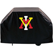 "Holland Bar Stool, Grill Cover, Virginia Military Institute, 60""L x 21""W x 36""H"