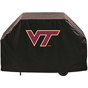 "Holland Bar Stool, Grill Cover, Virginia Tech, 60""L x 21""W x 36""H"