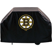 "Holland Bar Stool, Grill Cover, Boston Bruins, 72""L x 21""W x 36""H"