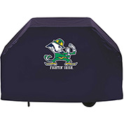 "Holland Bar Stool, Grill Cover, Notre Dame (Leprechaun), 72""L x 21""W x 36""H"