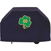 "Holland Bar Stool, Grill Cover, Notre Dame (Shamrock), 72""L x 21""W x 36""H"