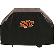 "Holland Bar Stool, Grill Cover, Oklahoma State, 72""L x 21""W x 36""H"