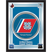 "United States Coast Guard Logo Mirror 17""W x 22""H"