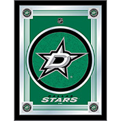 "Dallas Stars® Logo Mirror 17""W x 22""H"