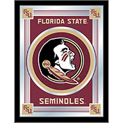"Florida State ""Head"" Logo Mirror 17""W x 22""H"