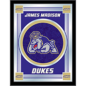 "James Madison University Logo Mirror 17""W x 22""H"