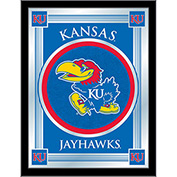 "University of Kansas Logo Mirror 17""W x 22""H"