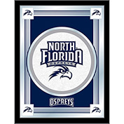 "University of North Florida Logo Mirror 17""W x 22""H"