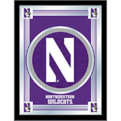 "Northwestern University Logo Mirror 17""W x 22""H"