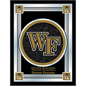 "Wake Forest University Logo Mirror 17""W x 22""H"