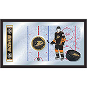 "Anaheim Ducks® Hockey Rink Mirror 15""H x 26""W"