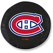 Montreal Canadiens Black Tire Cover-TCLGMONCANBK