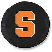 Syracuse University Black Tire Cover-TCLGSYRCSEBK