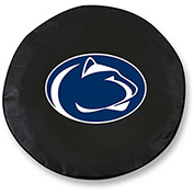Pennsylvania State University Black Tire Cover-TCSMPENNSTBK