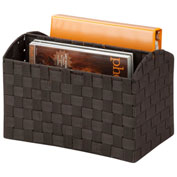 Honey-Can-Do Woven Document Carrying Tote - Espresso
