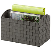 Honey-Can-Do Woven Document Carrying Tote - Salt and Pepper