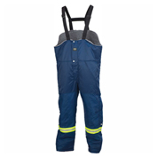 Helly Hansen Thompson Bib Pant, Navy, Large, 76512-590-L