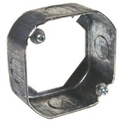 """Hubbell 130 Octagon Extension 4"""", 1-1/2"""" Deep, 1/2"""" & 3/4"""" Side Knockouts - Pkg Qty 50"""