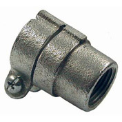 "Hubbell 1552 Combination Coupling 1/2"" Rigid / Imc To 1/2"" Flex - Pkg Qty 100"