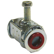 """Hubbell 2800 Metal Clad Cable Connector 1/2"""" - Pkg Qty 500"""