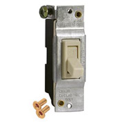 Hubbell 5201-0 Toggle Switch 15a 120v Polybag - Pkg Qty 10