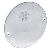 "Hubbell 5374-0 4"" Round Weatherproof Cover Blank - Pkg Qty 30"
