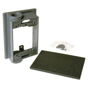 """Hubbell 5412-0 Swing Arm Extension Adapter 2-1/2"""" Outlets Gray - Pkg Qty 10"""