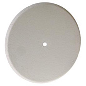 "Hubbell 5652-1 5"" Round Ceiling Closure Plate, Screw & Universal Mount Strap - Pkg Qty 10"