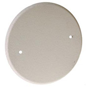 "Hubbell 5653-1 5""Round Ceiling Closure Plate,(2)8-32 Screws - Pkg Qty 10"