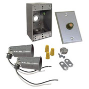 Hubbell 5883-5 Box Photocell Lite Kit Gray - Pkg Qty 4
