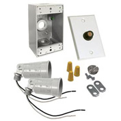 Hubbell 5883-6 Box Photocell Lite Kit White - Pkg Qty 4