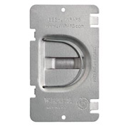 Hubbell 701fd Protection Plate, Flat, To Protect 1 Device Opening On Caddy Mp1s - Pkg Qty 50
