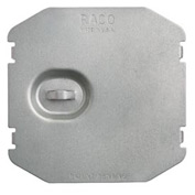 Hubbell 702f Protection Plate, Flat, To Protect 2 Device Opening On Mudring - Pkg Qty 50