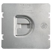 Hubbell 702fd Protection Plate, Flat, To Protect 2 Device Opening On Caddy Mp2s - Pkg Qty 25