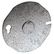 """Hubbell 703 Round Cover 3-1/2"""" - Pkg Qty 25"""