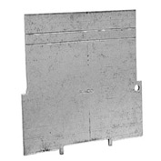"Hubbell 708 4"" Square Bx Partition, For 1-1/2"" Deep Bx, 1-1/4"", 1-1/2"" & 2"" Raised Cvr.s - Pkg Qty 25"