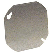 "Hubbell 722 Octagon Cover 4"", Blank - Pkg Qty 50"