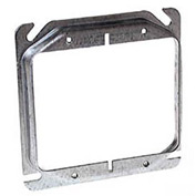 "Hubbell 778 4"" Square Mud-Ring, For 2 Devices, Raised 1/2"" - Pkg Qty 50"