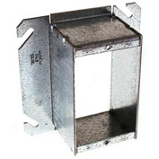 "Hubbell 786 4"" Square Mud-Ring, For 1 Device, Raised 2"", For Tile - Pkg Qty 25"